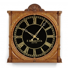 Howard No. 73 Mahogany Gallery Clock