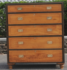 Camphor Wood Secretary with Pull out Desk