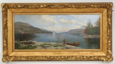 Lake George from French Point by Fred Pansing