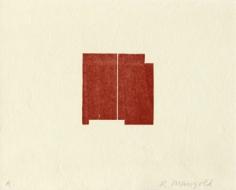 mangold untitled woodcut