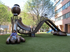 Playground, Silver Towers, New York, NY