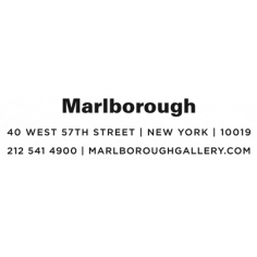 Tom is represented by Marlborough Gallery