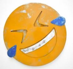 Nick Moss- HILARIOUS (MEDIUM), 2016 (36 inch diameter)_Casterline|Goodman Gallery
