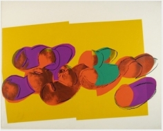Unique Space Fruit by Andy Warhol at Hg Contemporary Art Gallery