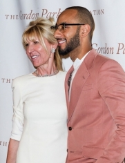 Diana Revson and Swizz Beatz