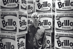 Fred W. McDarrah - Andy Warhol with Brillo Boxes