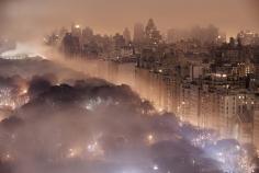 Jim Richardson- New York City Skyline in Fog