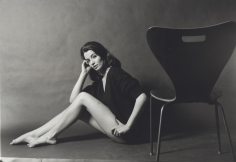 Lewis Morley - Christine Keeler with Chair