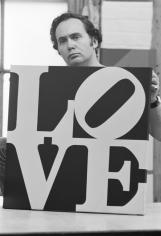William John Kennedy- Robert Indiana Holding Love