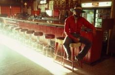 William Albert Allard- IL Buckaroo Stan Kendall at the Bar