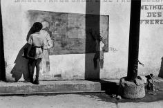 Burk Uzzle, Boy Against Wall