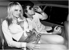 Roxanne Lowit- Pamela Anderson and David LaChapelle