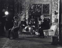 Fred W. McDarrah- Gerard Malanga Reading Poetry in Warhol's Loft During the Filming of Camp