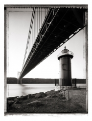 Christopher Thomas- Little Red Lighthouse, George Washington Bridge