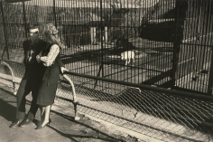 Garry Winogrand- Couple at Zoo Looking at Each Other
