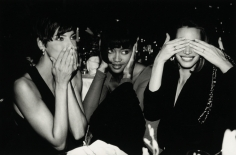 Roxanne Lowit- Linda Evangelista, Naomi Campbell, Christy Turlington, Speaking, Hearing and Seeing no Evil, Fasion Group Party