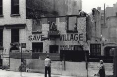 Fred W. McDarrah- Demolition of Artist's Studio