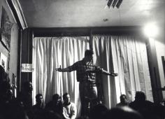 Fred W. McDarrah- Jack Kerouac Reading Beatnik Poetry in Lower East Side Loft