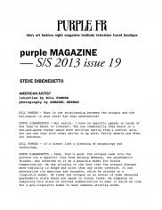 Purple Magazine