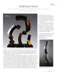Sculpture Center Opening Coverage in Santa Fean