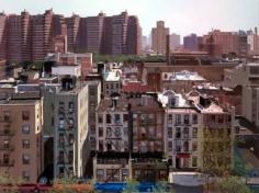 Andrew Lenaghan Looking East over Allen Street from Adam's Roof