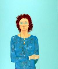 Joan Brown Self Portrait at Age 42