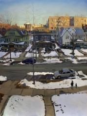 Andrew Lenaghan 'Sunset Over East 19th St.,' 2011