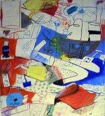 Peter Saul Untitled (Luke Strik), 1960