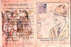 Enrique Chagoya Border Patrol