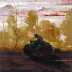 James McGarrell Biker, 2002