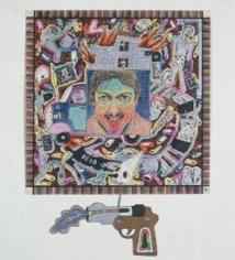 Luis Cruz Azaceta 'Autoretrato, Pistola y Otras Cositas,' 1979