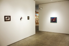 Installation view, Charles Marsh, Working in Secret: Assemblage and Collage, 1990-2000, George Adams Gallery, New York, 2012.