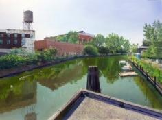 Andrew Lenaghan, 'Gowanus Canal from Carroll St Bridge,' 2011