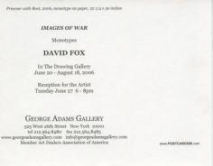 David Fox Show Announcement (continued)