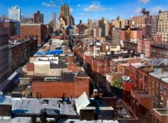 Andrew Lenaghan View West Over 70th and 71st Streets, Manhattan