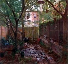 Andrew Lenaghan Summer Backyard, 396 State Street