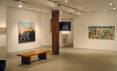 Installation View, Four American Landscapes, George Adams Gallery, New York, 2010.