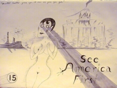 H.C. Westermann See America First # 15, 1968