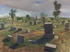 Andrew Lenaghan, 'Tombstones,' 2009