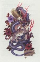 Alain Vaes 'Dragon and Tiger,' 2012