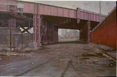 Andrew Lenaghan View Under RR Bridge off 135th St. Exit
