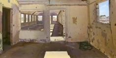 Andrew Lenaghan Barracks Interior, Ft. Tilden, Rockaway, 2002