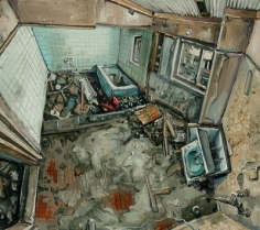 Amer Kobaslija, 'Bathroom Apartment Building, Nainowaki, May 7,' 2011
