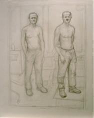 William Beckman Double Self-portrait