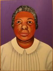 Joan Brown Portrait of Tinye van Arnsdale, 1972