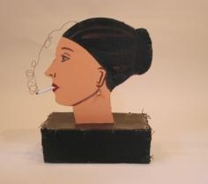 Joan Brown Smoker, 1973