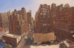 Andrew Lenaghan 'West 37th Street from Ron's Window,' 2004