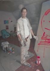 Andrew Lenaghan Self Portrait in the Garret II, 2007