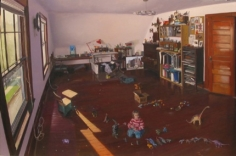 Andrew Lenaghan Sarah in the Studio with Dinosaurs, 2003