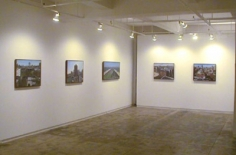 Andrew Lenaghan Exhibition Installation
